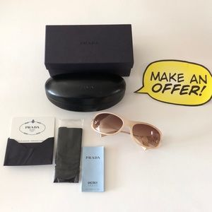 Prada Sunglasses with box, case and cloth